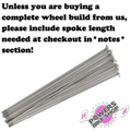 USA Brand silver spokes Pack of 28
