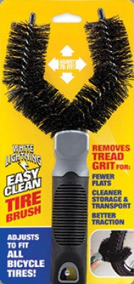 White Lightning Tire Cleaning Brush - POWERS BMX