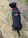 Arkansas Dog Hoodie Coat