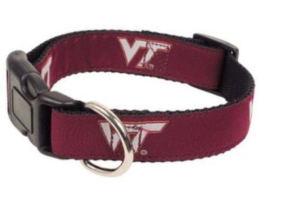 Virginia Tec Dog Collar