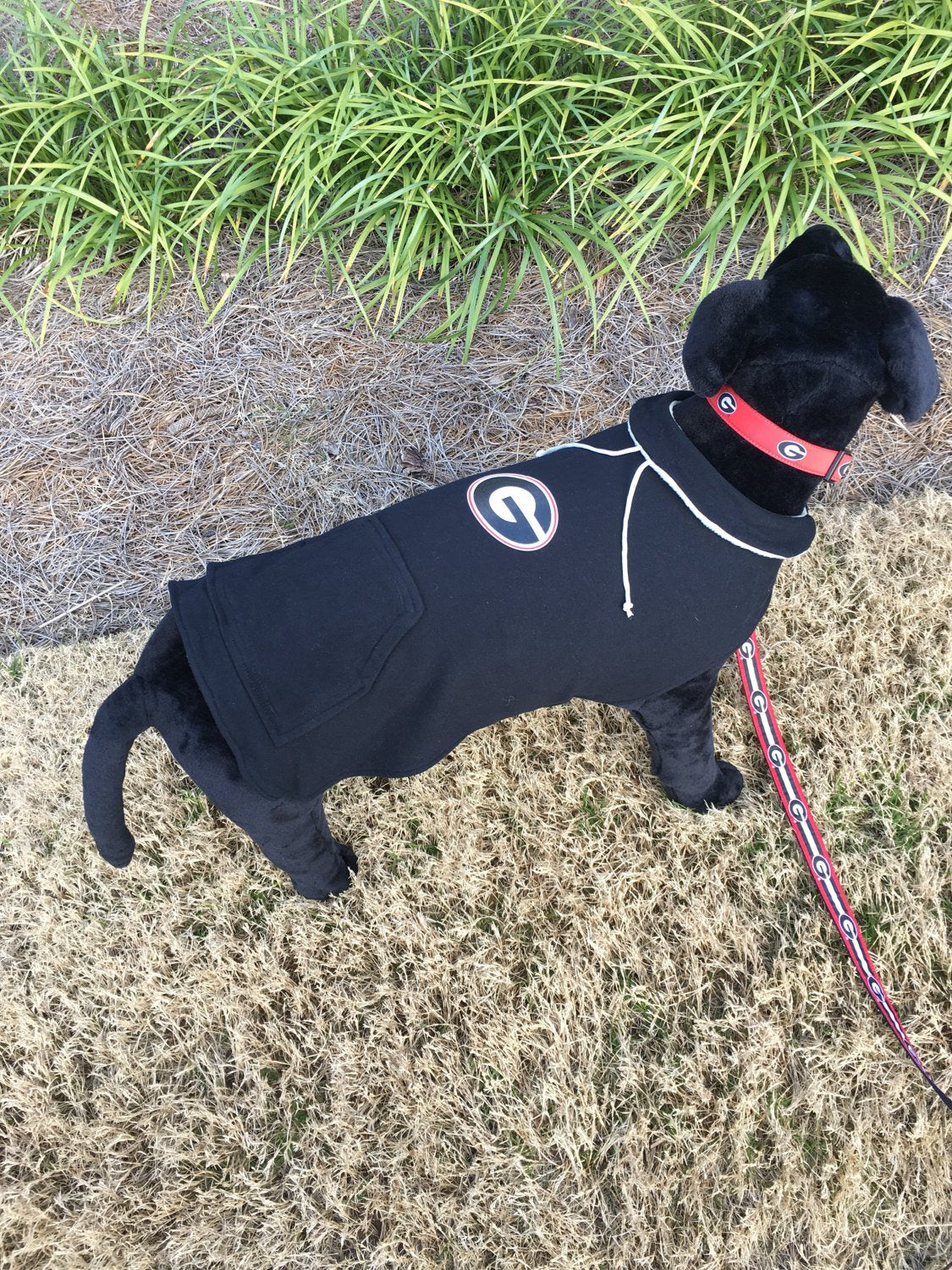 Georgia Bulldogs  Dog Hoodie Coat