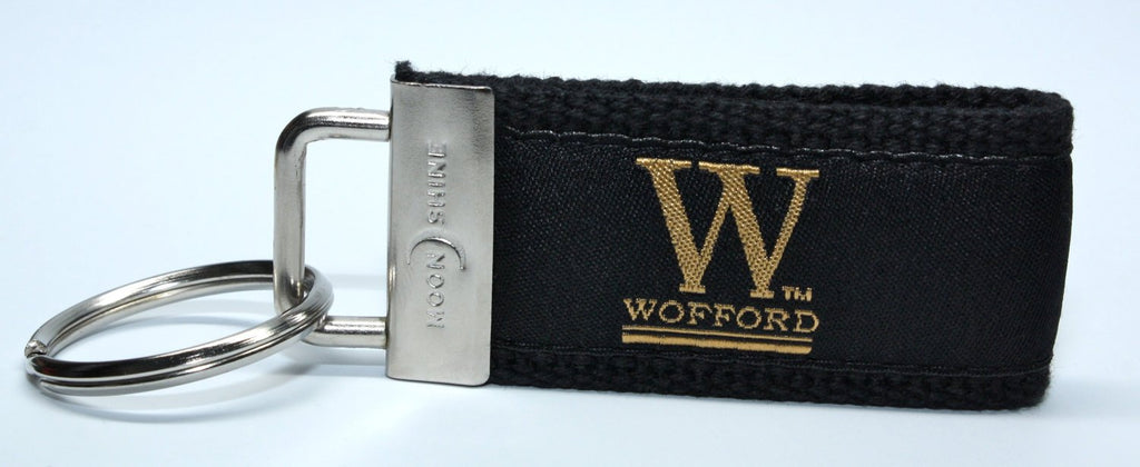 Wofford College Terrier Web Key Chain
