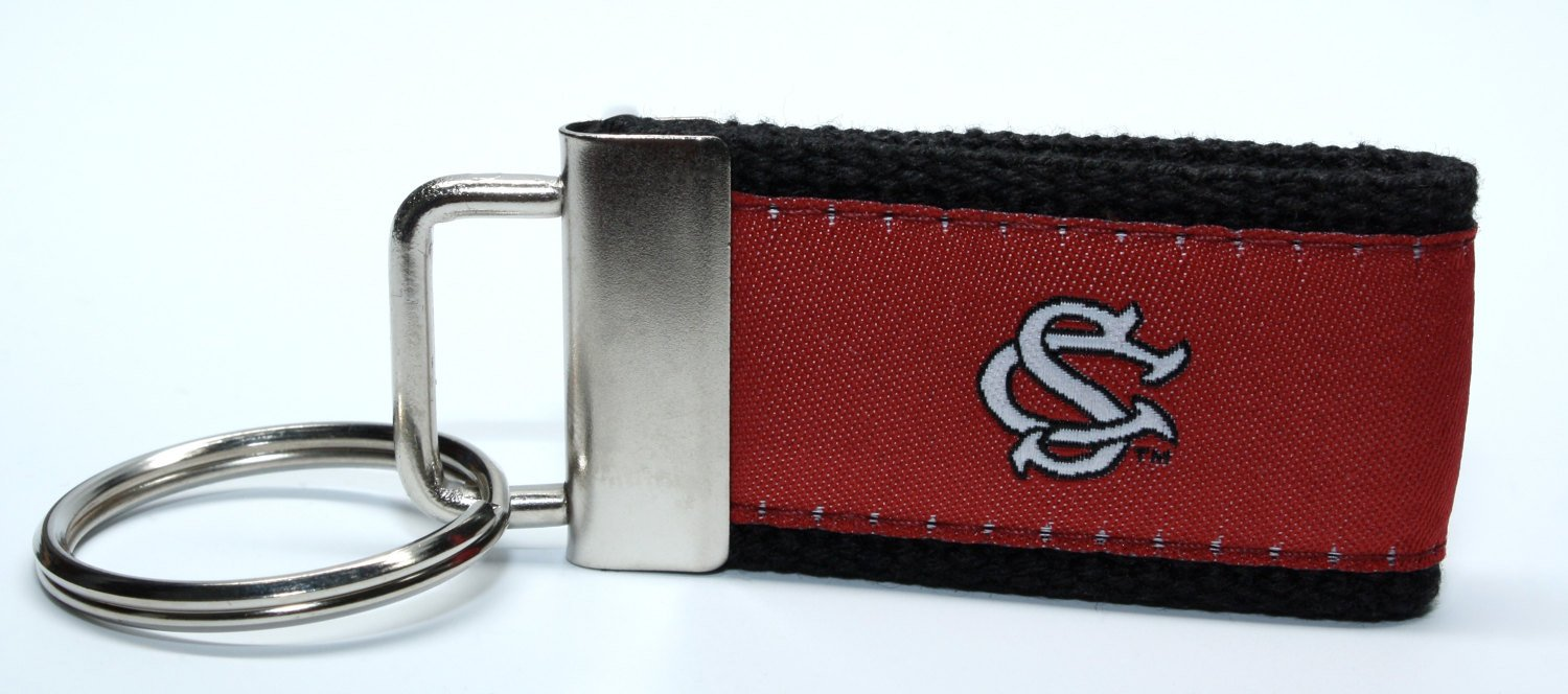 South Carolina University USC web key chains