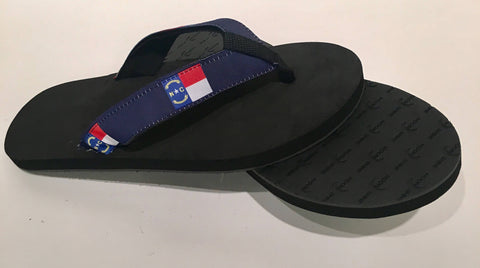 North Carolina Flag Sandals/Flip Flops.