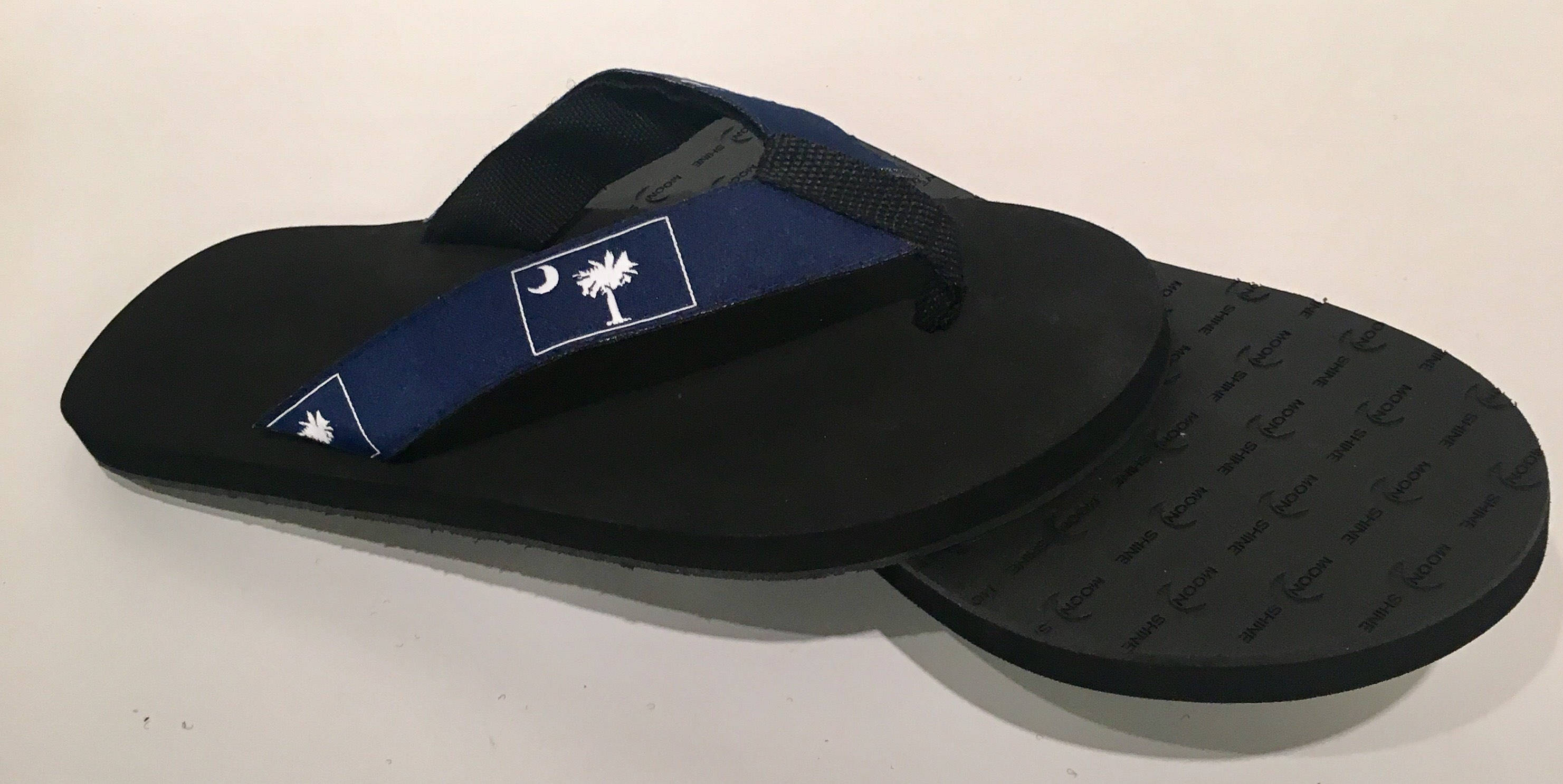 South Carolina SC  Flag Sandals/Flip Flops.
