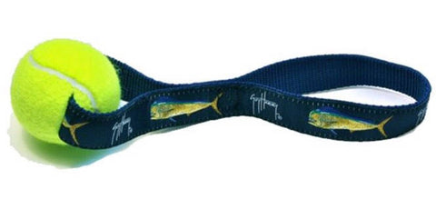 Guy Harvey Bull Dolphin Dog Toy 3 colors to chose