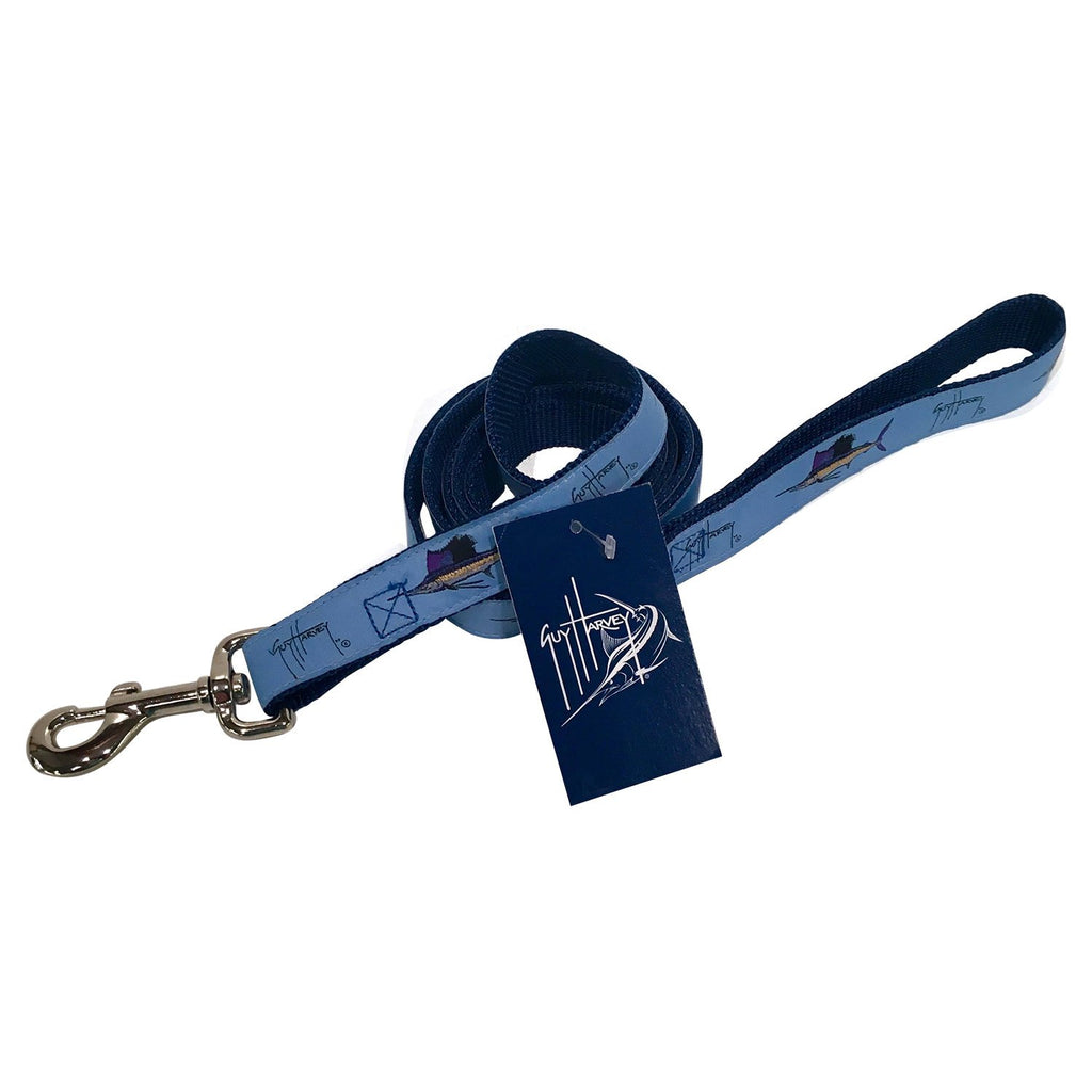 Guy Harvey SkyBlue Grandslam  6' Dog Leash
