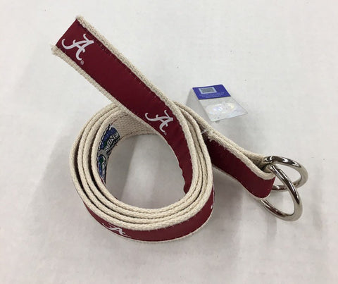Alabama Ribbon D-Ring Belt