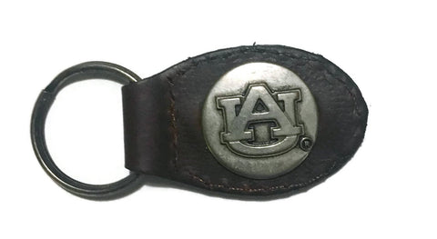 Auburn University leather key chain