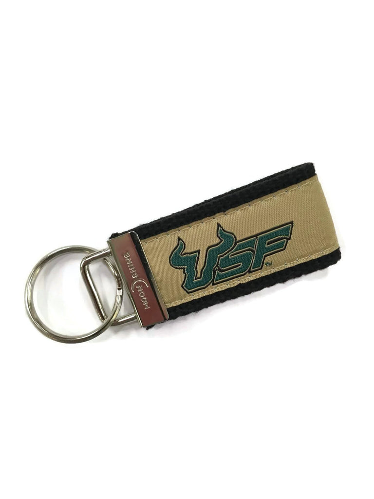 University of South Florida licensed web key chain