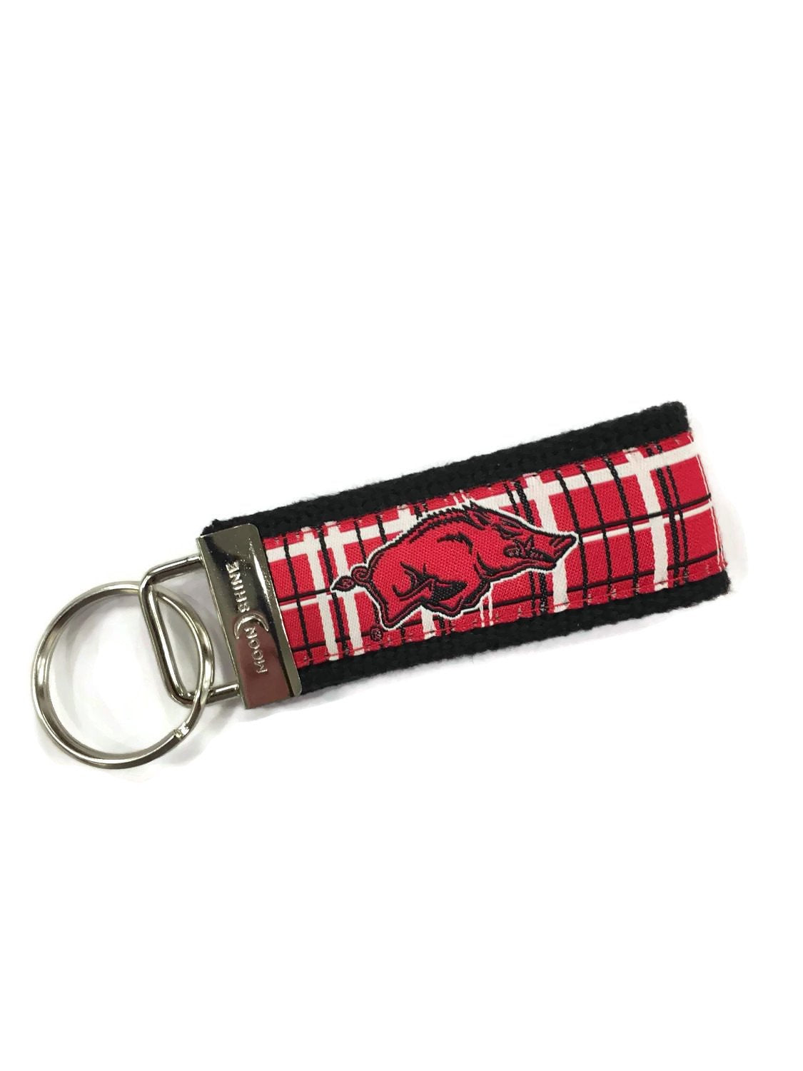University of Arkansas licensed web key chain