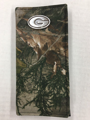 University of Georgia Bulldogs Camouflage Secretary Wallet