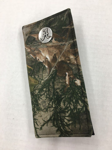 University of Alabama Camouflage Secretary Wallet