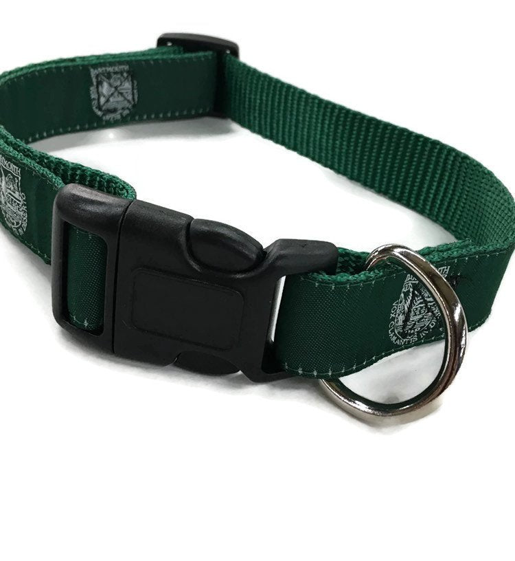 Dartmouth ribbon Dog Collar
