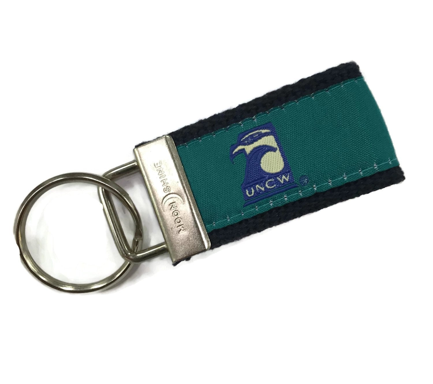 University of NC of Wilmington UNCW licensed web key chain