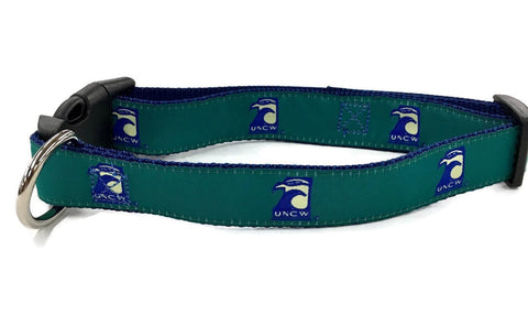 University of North Carolina UNCW Dog Collar