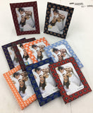 Clemson Tiger Paw Picture Frame