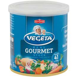 Vegeta Vegetable Gourmet Stock Powder 250g, $3.70ea