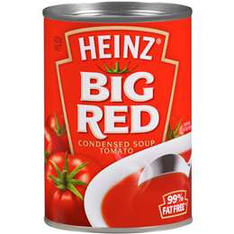 Heinz Canned Soup Big Red Tomato 420g, $2.20ea