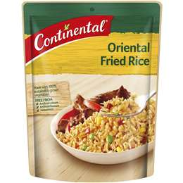Continental Pack Fried Rice Oriental 115g