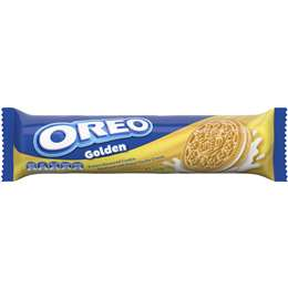 Oreo Cookie Golden 133g, $2.00ea