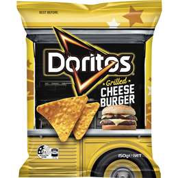 Doritos - Grilled Cheese Burger Chips, 150g