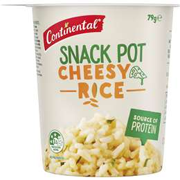 Continental Snack Pot Cheesy Rice, 79g
