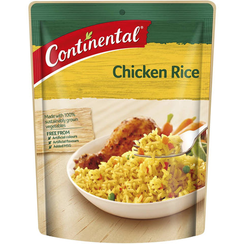 Continental Pack Chicken Rice 120g