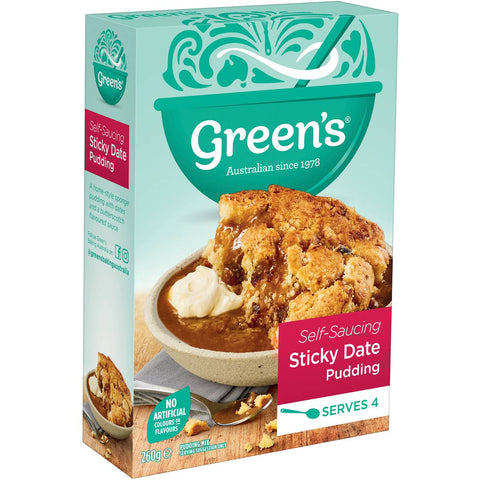 Green's Sticky Date Self Saucing Pudding, 260g