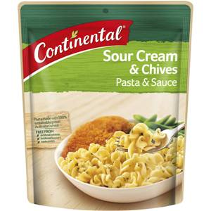 Continental Pasta & Sauce Sour Cream & Chives 85g, $2.10ea