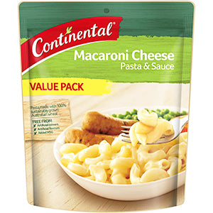 Continental Value Pack Pasta & Sauce Macaroni Cheese 170g, $3.00ea