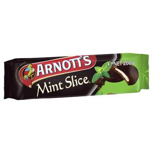 Arnott's Mint Slice Chocolate Biscuits 200g