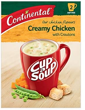 Continental Cup a Soup - Creamy Chicken & Corn with Croutons, $2.00ea