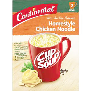 Continental Cup a Soup - Homestyle Chicken Noodle, $2.00ea
