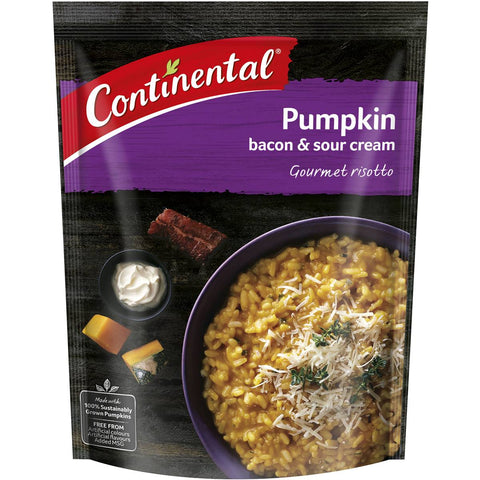 Continental Risotto Pumpkin Bacon & Sour Cream, 115g