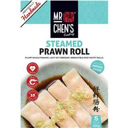 Mr Chen's Steamed Prawn Roll 300g
