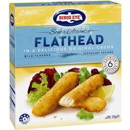 Birds Eye South Atlantic Flathead 270g