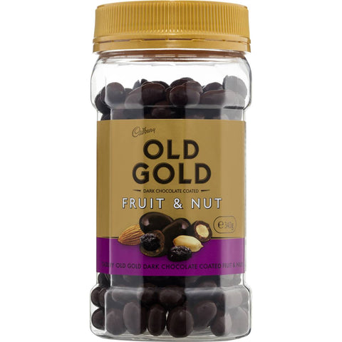 Cadbury Old Gold Chocolate Coated Fruit & Nut 340g