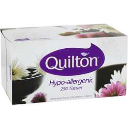 Quilton 2ply Tissue Hypo-allergenic 250x Pack