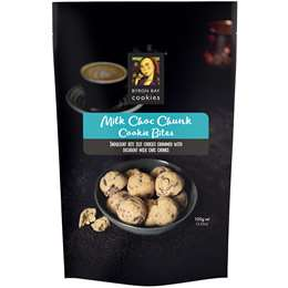Byron Bay Cookies Milk Choc Chunk Cookie Bites 100g