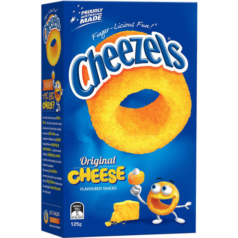 Cheezels Cheese Box, 125g