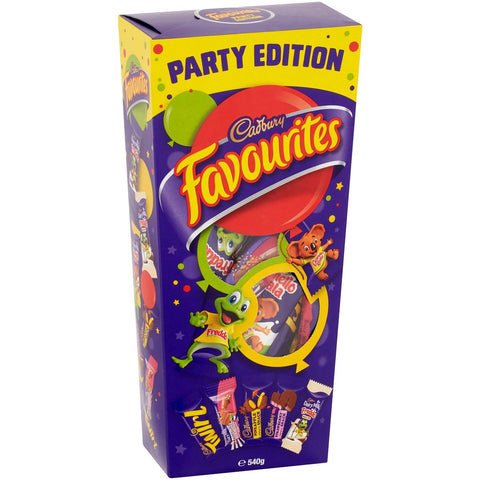 Cadbury Favourites Party Pack, 570g