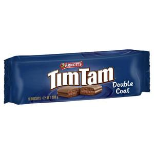 Arnott's Double Coat Chocolate Tim Tam 200g