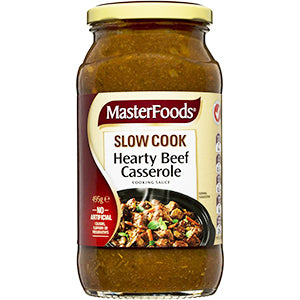 MasterFoods Hearty Beef Casserole 495g, $3.70ea