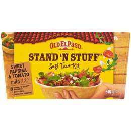 Old El Paso Stand 'N Stuff Soft Taco Kit, $7.00ea