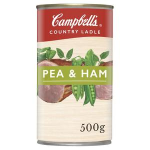 Campbell's Country Ladle - Pea & Ham Soup, 500g