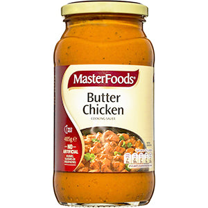MasterFoods Butter Chicken 485g, $3.70ea