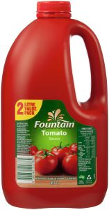 Fountain Tomato Sauce 2L, $6.00ea