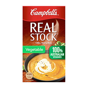 Campbell's Real Stock, Vegetable 1L $4.00ea