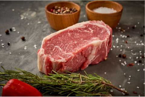 Thick Cut New York Steak  500gm Per Portion